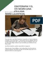 LA MAGNESIOTERAPIA Y EL CHOCOLATE NEGRO