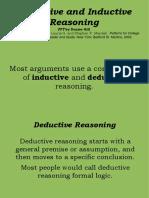 Deductive-Inductive reasoning