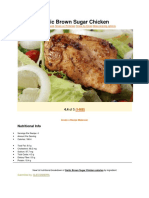 poultry dishes