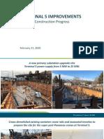 T5 Phase1 Construction Progress