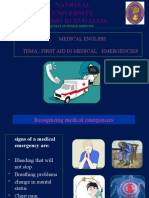 First Aid in Medical Emergencie