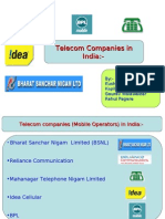 Indian telecom industries