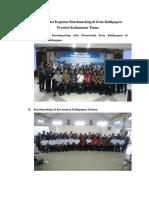 Dokumentasi Kegiatan Benchmarking di Kota Balikpapan