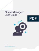 Skype Manager User Guide