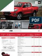 Ficha Técnica - Ficha Técnica Toyota Hilux 2.4L