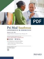Pri-Med Southwest 2011 Brochure