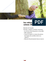 Swiss Pension Study 2010