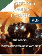 SGL Season I Sponsorship Packet
