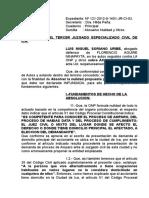 ABSUELVO NULIDAD- FLORENCIO AGUIRRE N.