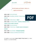 Omul din Spatele unui Profesor, ediția a II-a - agenda evenimentul
