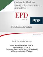Acesso à justiça, isonomia e gratuidade - I.pdf