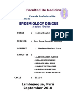 Group Vi Epidemiology Dengue