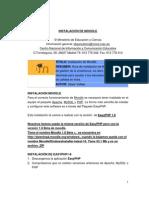 Instalacion y Configuracion de Moodle Final PDF