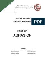P.E. - FIRST AID Abrasion.docx