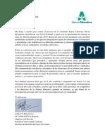 Carta de recomendación Karen Dávila