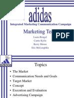 Imc Campaign Adidas