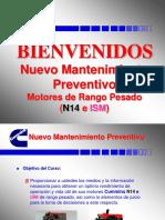 MANTENIMIENTO PREVENTIVO N14 -ISM