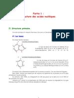 Biologie Moleculaire_chap1-Structure Des Acides Nucleiques
