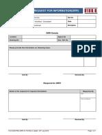 18.8 Design Request for Information