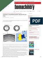Joints à Gaz Secs Dans l'Huile Et Le Gaz _ Magazine Turbomachines