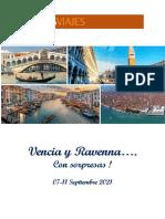 2020 Venecia y Ravenna