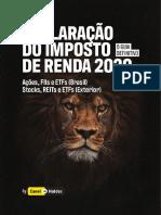 Guia de Declaração IRPF 2020 Ações FIIs Stocks REITs e ETFs