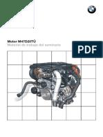 Motor M47D20TU Manual de Trabajo Del Seminario BMW