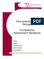 UKCSAG Intraoperative Cell Salvage Competency Assessment Workbook