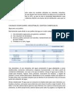 CAUDALES DOMICILIARES