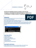 Batch Datei