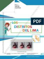 LOS DISTRITOS DE LIMA LSP