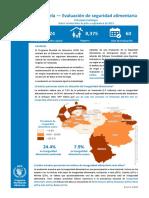 Reporte 2020 de la WFP sobre Venezuela