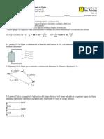 Examen Parcial Fisica 2 - 2015