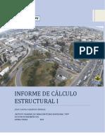 INFORME DE CALCULO ESTRUCTURAL 1