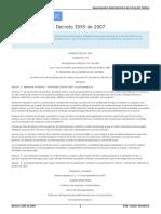 Decreto_3555_de_2007 - Comisión de estudios remunerada