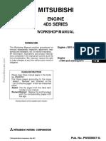 94 4d56 Diesel Engine Workshop Manual Pwee9067 Abcdef 11b Vehicles Automotive Technologies