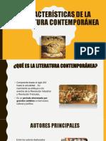 CARACTERISTICAS DE LA LITERATURA CONTEMPORANEA (1).pptx