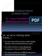 Using Employer Brand to Attract Talent.ppt