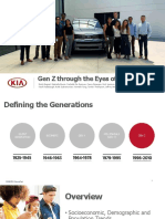 2019 kma summer intern group project presentation - understanding gen-z  1