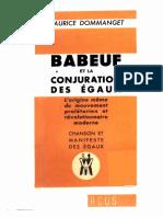 Dommanget, Babeuf et la conjuration des égaux.pdf