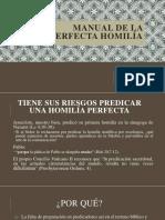 Manual Imperfecta Homilía