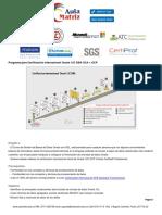 Capacitacion Programa para Certificación internacional Oracle 12C DBA OCA + OCP