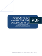 Account Opening Manual for Foreign-based Corporations[2]