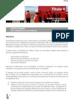0018 Titulo II. Normas Generales 21-77