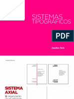 Design Editorial or Sistemas Tipograficos