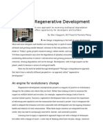 Regenerative Development