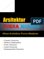 Arsitektur Purna-Modern