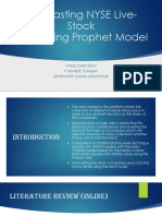 NYSE Stock market ANalysis using Prophet model