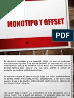 Monotipo y offset