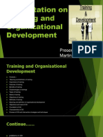 Training and Organisational Development mba 3 sem